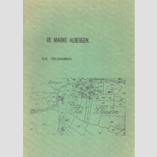1977 De marke Albergen o.a. Veldnamen