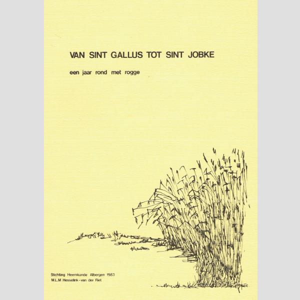 1983 Van Sint Gallus tot Sint Jobke