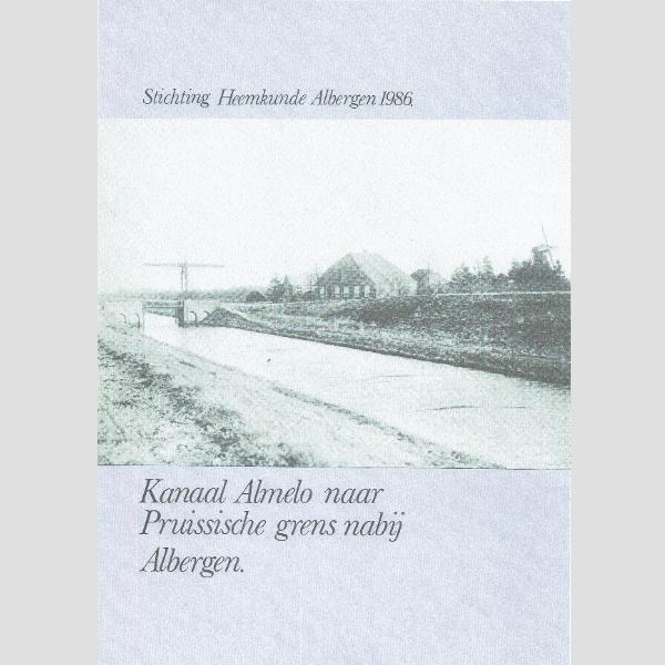 1986 Kanaal Almelo naar Pruissische grens nabij Albergen